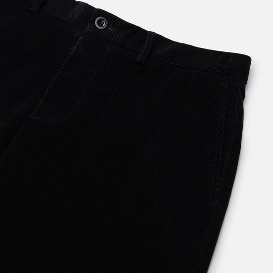 Мужские брюки Maison Margiela Chino Regular Cotton Corduroy Dark Blue