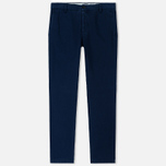 Мужские брюки Maison Margiela Cotton Gabardine Dark Blue фото- 0