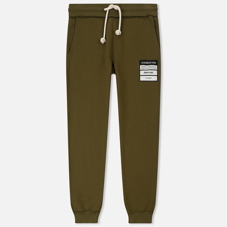 Мужские брюки Maison Margiela Stereotype Patch Olive