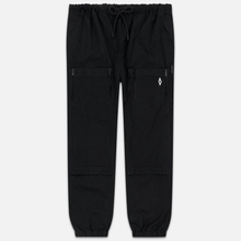 Мужские брюки Marcelo Burlon Cross Pocket Black/White фото- 0