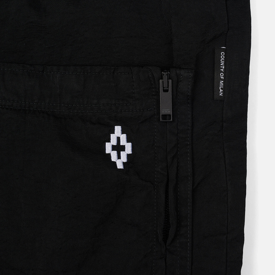Мужские брюки Marcelo Burlon Cross Pocket Black/White