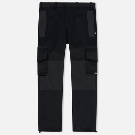 Мужские брюки Marcelo Burlon Dame Label Cargo Black/Multicolor