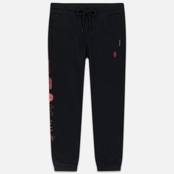 Мужские брюки Marcelo Burlon Hot Dogs Slim Black/Red