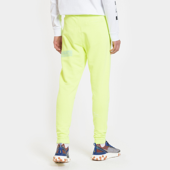 Мужские брюки Marcelo Burlon Lettering Fluo Yellow/Multicolor