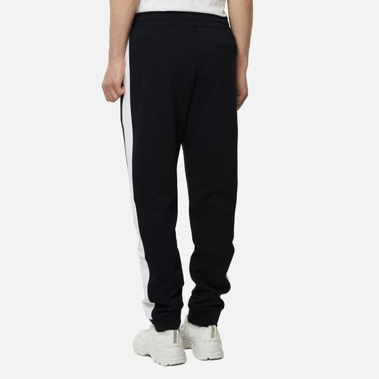 Мужские брюки MSGM Joggers Cotton Side Stripes Black