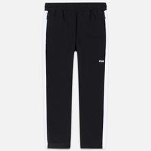 Мужские брюки MSGM Joggers Logo Printed Black фото- 0