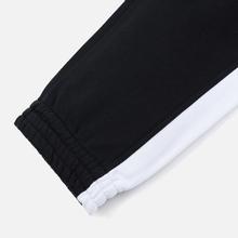 Мужские брюки MSGM Joggers Logo Printed Black фото- 4