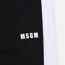 Мужские брюки MSGM Joggers Logo Printed Black фото- 1