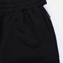 Мужские брюки MSGM Joggers Logo Printed Black фото- 2
