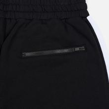 Мужские брюки MSGM Joggers Logo Printed Black фото- 3