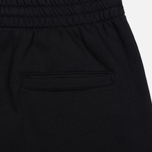 Мужские брюки MSGM Red And White Logo Print Black фото- 2