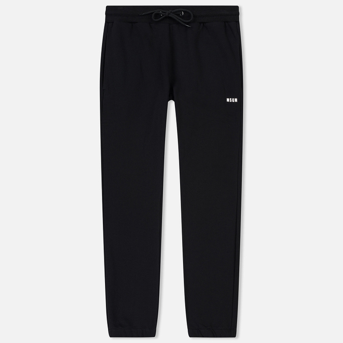Мужские брюки MSGM Sport Print Black/White