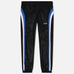 Мужские брюки MSGM With Logo Patch Black фото- 0