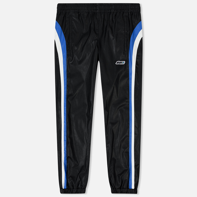 Мужские брюки MSGM With Logo Patch Black