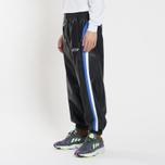 Мужские брюки MSGM With Logo Patch Black фото- 1