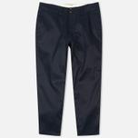 Мужские брюки Nanamica Chino Wind Navy фото- 0