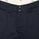 Мужские брюки Nanamica Chino Wind Navy фото- 2