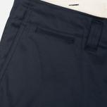 Мужские брюки Nanamica Chino Wind Navy фото- 4