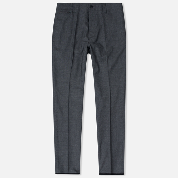 Nanamica Club Men's Trousers Heather Grey