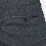 Nanamica Club Men's Trousers Heather Grey photo- 2