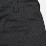 Мужские брюки Nanamica Stretch Wool Grey фото- 5