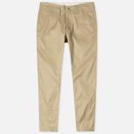 Мужские брюки Nanamica Tapered Chino Beige фото- 0