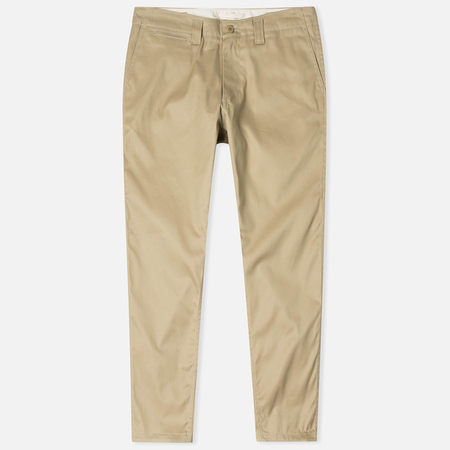 Nanamica Tapered Chino Men's Trousers Beige