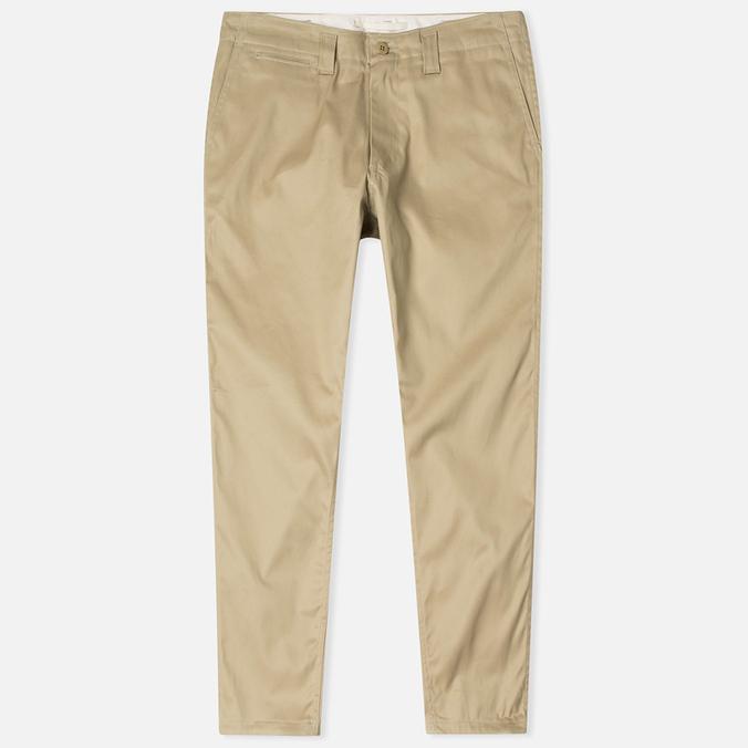 Мужские брюки Nanamica Tapered Chino Beige
