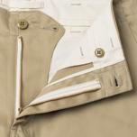Мужские брюки Nanamica Tapered Chino Beige фото- 1