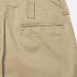 Мужские брюки Nanamica Tapered Chino Beige фото- 2