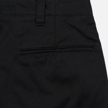 Мужские брюки Nanamica Tapered Chino Cotton/Polyester Black фото- 4