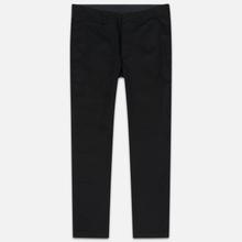 Мужские брюки Nanamica Tapered Chino Cotton/Polyester Black фото- 0