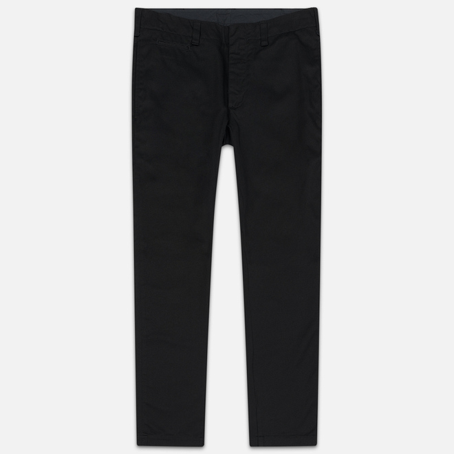Мужские брюки Nanamica Tapered Chino Cotton/Polyester Black