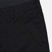 Мужские брюки Nanamica Tapered Chino Cotton/Polyester Black фото- 3