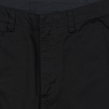 Мужские брюки Nanamica Tapered Chino Cotton/Polyester Black фото- 2