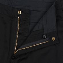 Мужские брюки Nanamica Tapered Chino Cotton/Polyester Black фото- 1