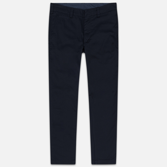 Мужские брюки Nanamica Tapered Chino Cotton/Polyester Navy