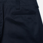 Nanamica Tapered Chino Men's Trousers Navy photo- 2