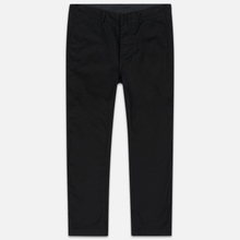 Мужские брюки Nanamica Wide Chino Cotton/Polyester Black фото- 0