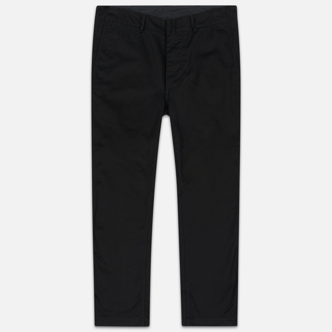 Мужские брюки Nanamica Wide Chino Cotton/Polyester Black