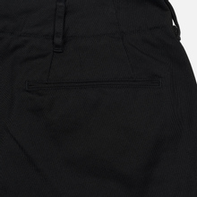 Мужские брюки Nanamica Wide Chino Cotton/Polyester Black фото- 4
