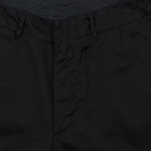 Мужские брюки Nanamica Wide Chino Cotton/Polyester Black фото- 2