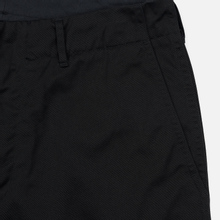 Мужские брюки Nanamica Wide Chino Cotton/Polyester Black фото- 3