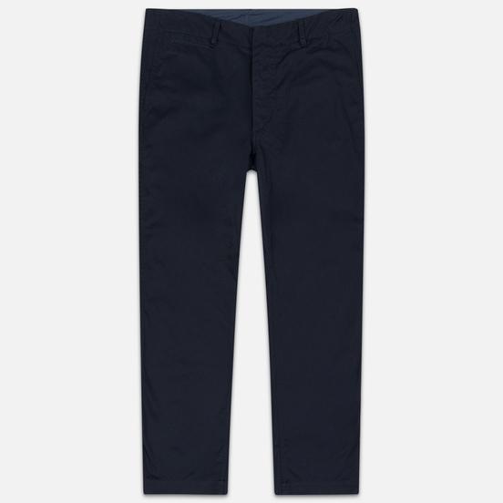 Мужские брюки Nanamica Wide Chino Cotton/Polyester Navy