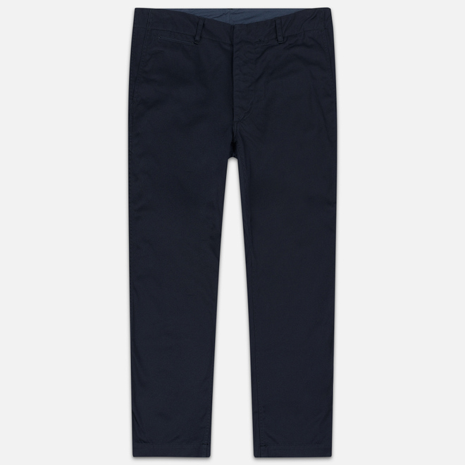 Мужские брюки Nanamica Wide Chino Cotton/Polyester Navy