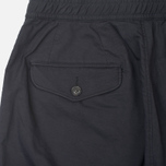 Nanamica Wide Men`s Trousers Navy/Green photo- 1