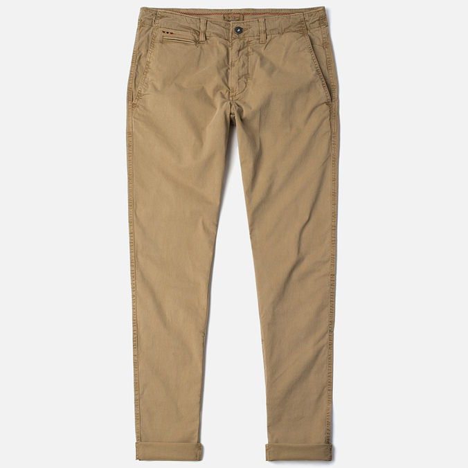 Napapijri Mana Stretch Summer Men's Trousers Desert