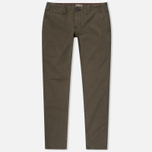 Napapijri Mana Twill Winter Men's Trousers Grey Olive photo- 0