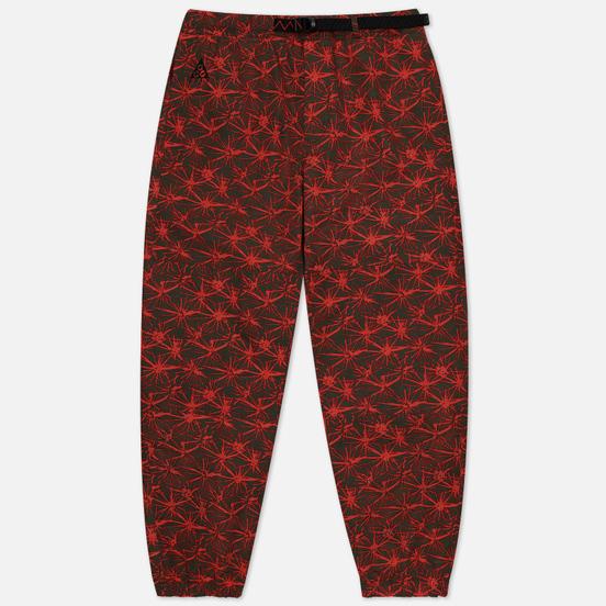 Мужские брюки Nike ACG NRG All Over Print Rush Red/Black