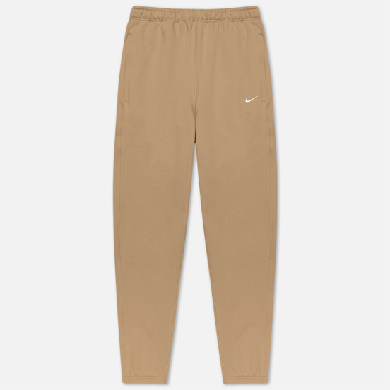 Мужские брюки Nike NRG Embroidered Swoosh Khaki/White